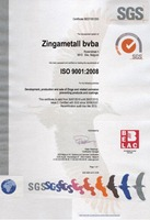 ISO 9001 Management Quality Label - SGS Systems & Services Certification (Belgium)